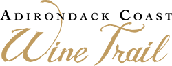 logo for Adirondack coast wine trail