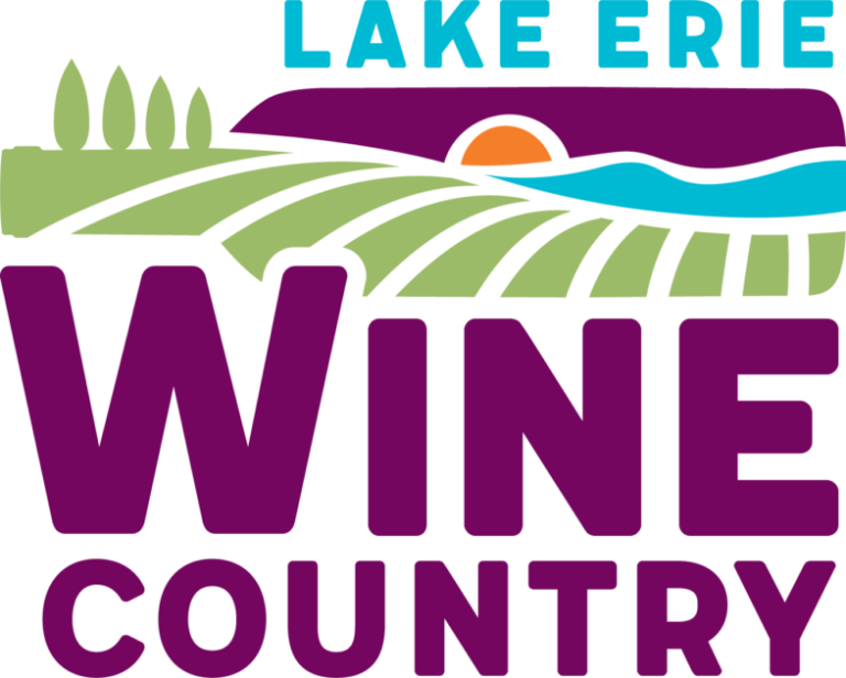 logo for lake erie wine country