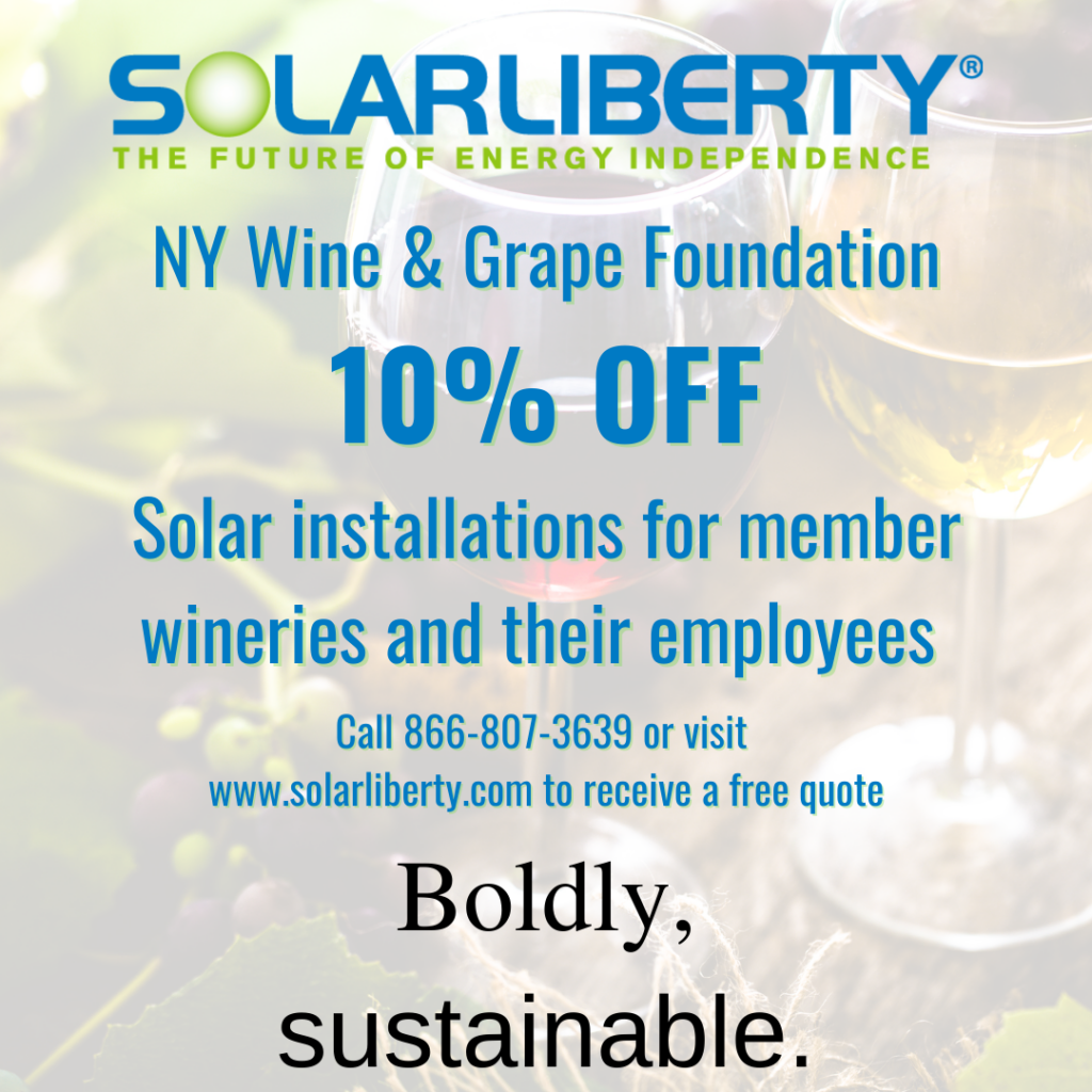 ad: NYWGF members receive 10% off solar installation by Solar Liberty. Call 866-806-3639.